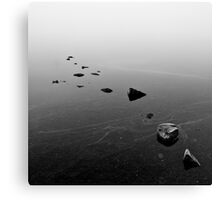 Lake Of Menteith - Into The Mist Canvas Print