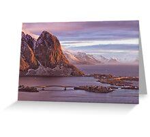 Lofoten Islands, Norway Greeting Card