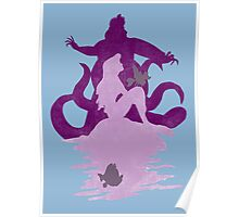 Under The Sea (light blue) Poster