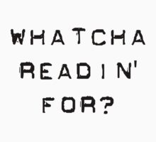 Bill Hicks - whatcha readin for? by Ximoc