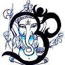 OM  Ganesha by whittyart