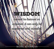 Wisdom Can't be Learned by Zenology Arts