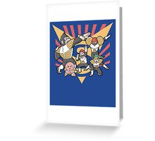 Smash Force Greeting Card