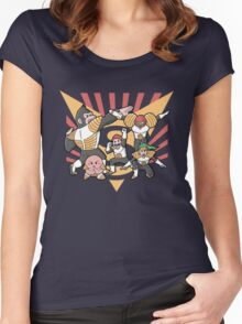 Smash Force Women's Fitted Scoop T-Shirt