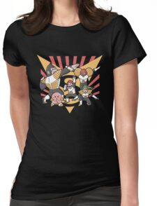 Smash Force Womens Fitted T-Shirt