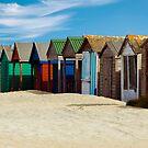 Beach Huts Series 3 by Amanda White