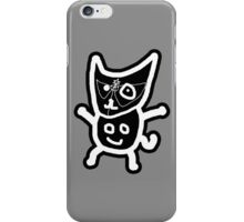 black ZEFCAT iPhone Case/Skin