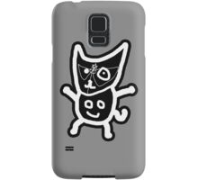 black ZEFCAT Samsung Galaxy Case/Skin