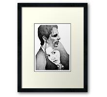 Something Bad  Framed Print