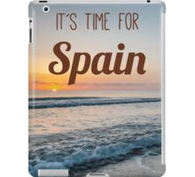 Time for Spain iPad Case/Skin