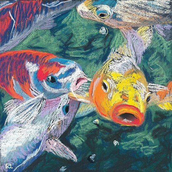 koi fish by ria hills