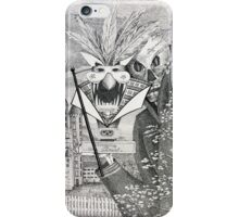 Invitation to the masked ball iPhone Case/Skin