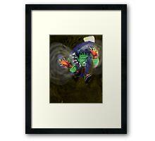 Run Through the Jungle Framed Print