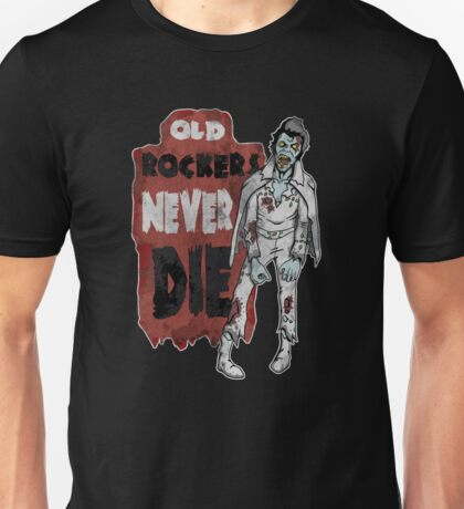 """Old Rockers Never Die"" T-Shirt"