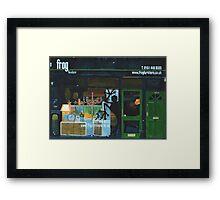 DIDSBURY Facade 03 Framed Print