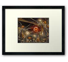 'When Mushrooms Dream' Framed Print