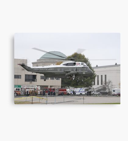 Presidential Helicopter Canvas Print