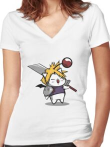 Cosplay Kupo Women's Fitted V-Neck T-Shirt