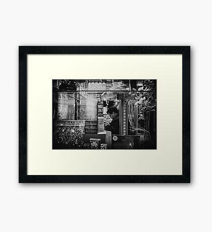 bibliophool Framed Print