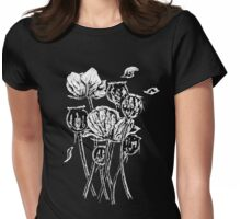 Opium Poppies Womens Fitted T-Shirt