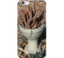toilet Art. iPhone Case/Skin