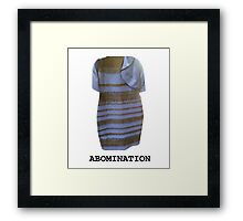 Abomination Framed Print