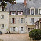Le Manoir de la Giraudière, Chinon, Brittany, France by Elaine Teague