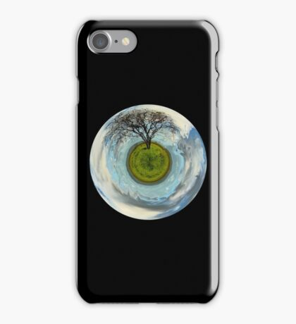 One tree planet iPhone Case/Skin