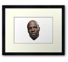 Terry Crews Framed Print