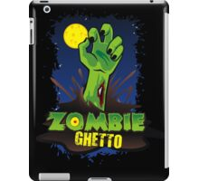 ZOMBIE GHETTO OFFICIAL LOGO DESIGN T-SHIRT iPad Case/Skin