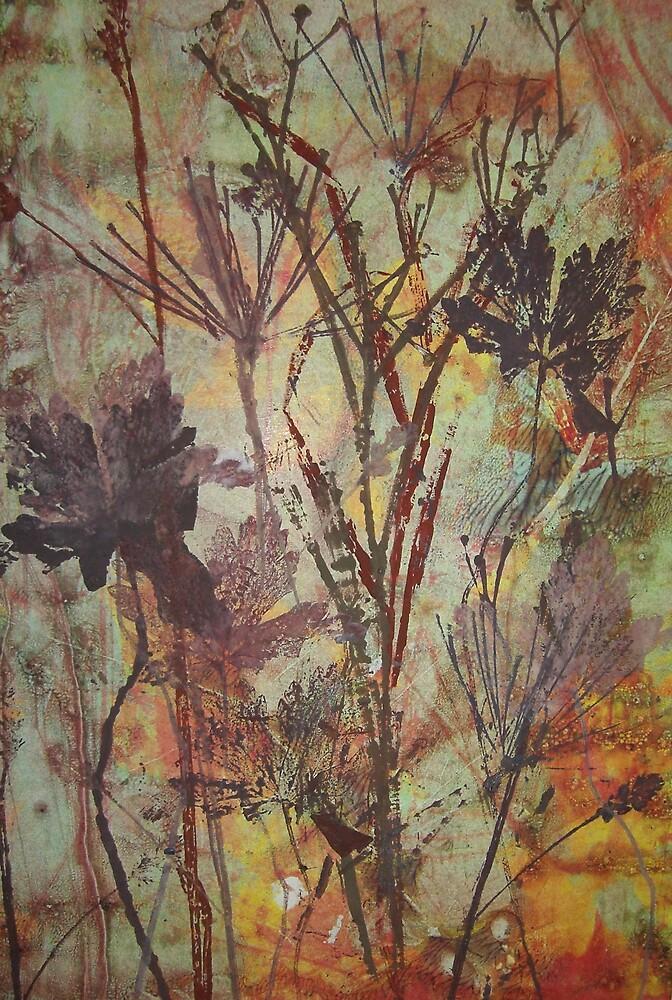 LEAVES I by Susan Duffey