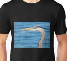 Blue Heron Portrait Unisex T-Shirt