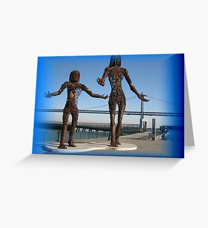 Splendid sculptures  Greeting Card