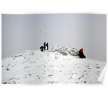 Carrauntoohil summit Poster