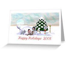 Happy Holidays 2008 Greeting Card