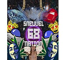 Sneuvel nation crazy mix up Photographic Print