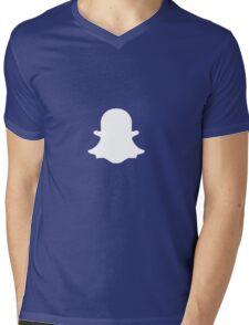 Snapchat Mens V-Neck T-Shirt