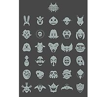 Mask Collection Photographic Print