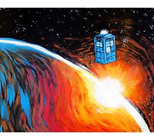Time Travel Tardis Photographic Print
