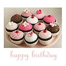 chocolate cakes by bunnyknitter