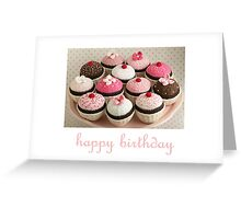 chocolate cakes Greeting Card