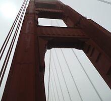Golden Gate Bridge Pylon no.1 by becSamways