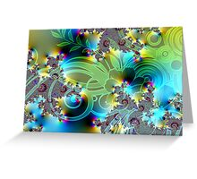 Patterns of Love Greeting Card