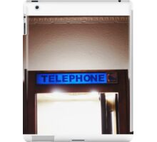 Phone Booth @ Nebula Studios iPad Case/Skin