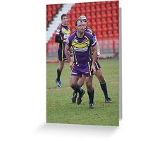 Gateshead Thunder  2008 - Chris Parker Greeting Card