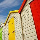 Beach Hut Series 20 by Amanda White