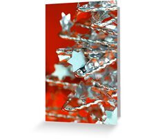Christmas Stars Greeting Card