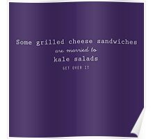 Grilled Cheese and Kale - Swan Queen (white) Poster