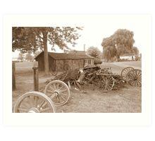 amish acres Art Print