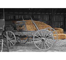amish wagon Photographic Print